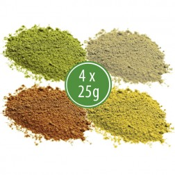 Malý Test Pack – Green, Red, White, Yellow (4 x 25g)
